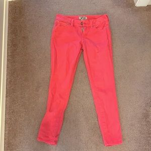 Pink lucky jeans